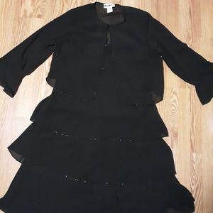 Dana Kay 2-Piece Midi Evening Gown